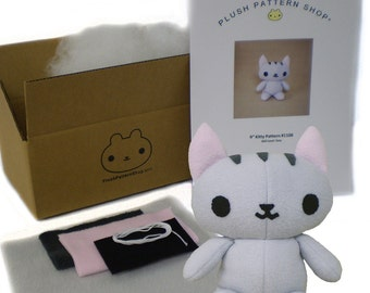 Kitty Cat DIY Sewing Kit Stuffed Animal