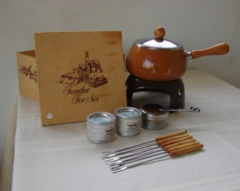 Fondue For Six In A Box – Complet Set