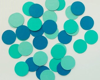 Blue Ombre Confetti