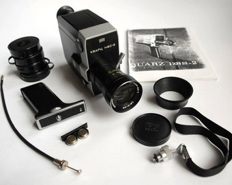Quartz 1x8 S-2 Super8 camera
