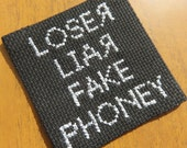 Manic Street Preachers Of Walking Abortion Loser Liar Sew-on Patch Badge