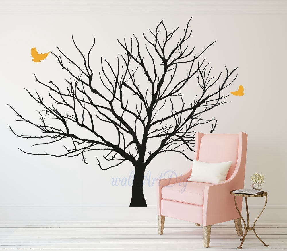 Awesome arbre photos mural pictures for Pochoir mural geant