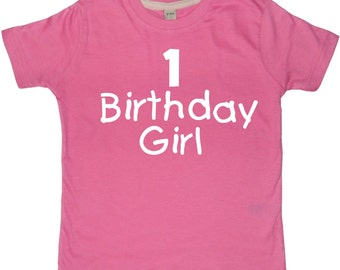 1 Birthday Boy/Girl Boys and Girls 1st Birthday T-shirt