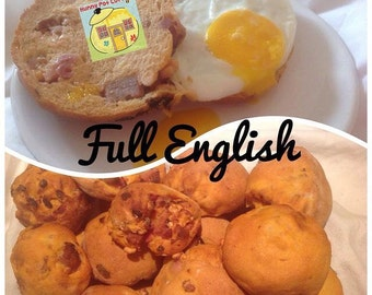 Full English Breakfast Rolls