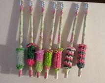 Rainbow Loom Pencil Grips, Pen Grips, Party Favors