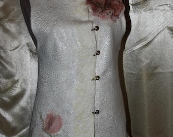 felted wool vest