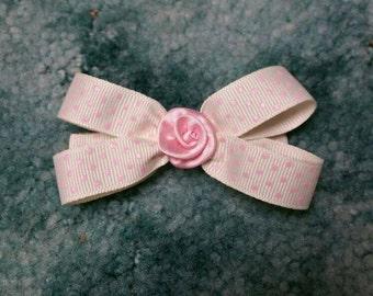 Pretty in pink polka dot bow