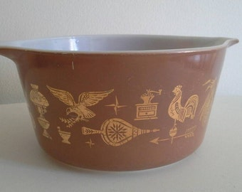 Early American Pyrex Bowl 473 1 quart