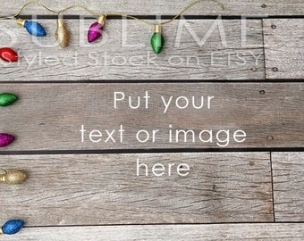 Christmas Styled Stock / Christmas Stock / Christmas Background / Christmas Mock Up / Christmas Desktop / Christmas Photo / StockStyle-593