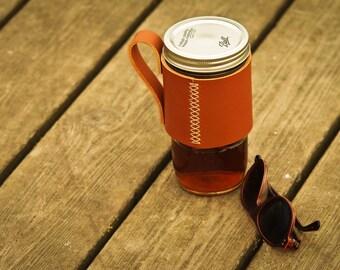 Leather Travel Mug