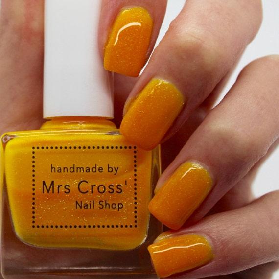 Neon Nail Polish Uk: Bright Orange Nail Polish