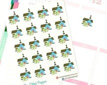 PRINTED Tithing stickers. Church donation, giving sticker. Erin Condren planner stickers, calendar stickers (Item #085)