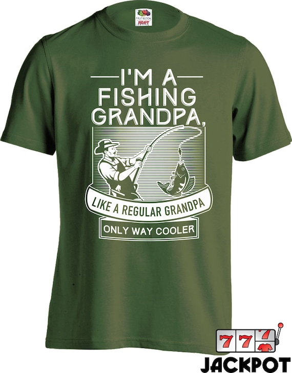 Fishing gifts for grandpa fathers day t shirt fishing shirt for Fishing gifts for dad