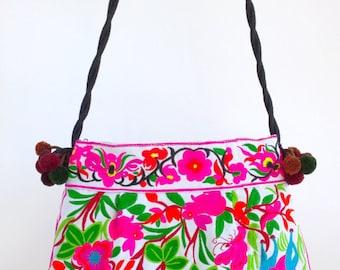 Hmong Embroidery Bag - Boho Crossbody Bag - Bohemian Bag ( Free Shipping Worldwide )