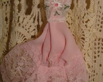 Shabby Chic Prom Dress Christmas Decoration