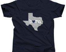 Texas Shirt - Texas Tshirt - Texas Tee - Texas T Shirt - I Love Texas - Austin - State of Texas - Texas State - Houston - Dallas