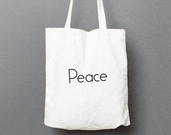 "Shopping bag ""Peace"""