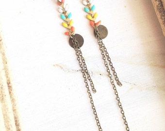 Ayanna - multicolour of summer earrings II