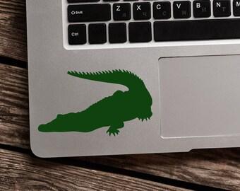 SUMMER SALE! Alligator Sticker Alligator Decal Crocodile Vinyl Decal Sticker
