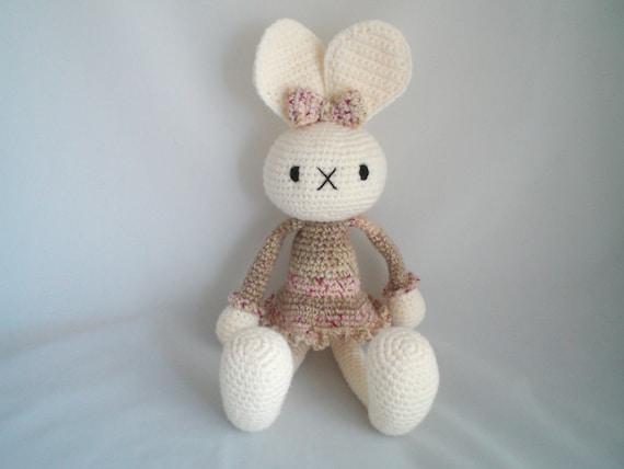 Amigurumi Bunny Ears : Crochet Bunny Rabbit / Crochet Amigurumi Bunny Rabbit / Long