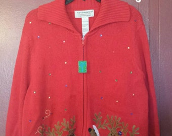Vintage Tacky Christmas sweater - Vintage Ugly Christmas Sweater