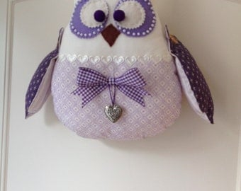 Stuffed owl/  Room decoration