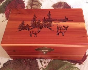 Cedar Box - Deer