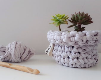 Storage Basket, Plants Basket, Home Decor, Crochet Basket, Crochet Bowl, Home Decor Organization, MIKKO.