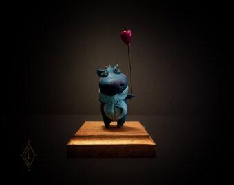 Figurine Art toy -Hippotamoris- unique