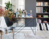 The Coleman Bar Cart - Contemporary Design, Industrial Chic. New modern classics by Greta de Parry.