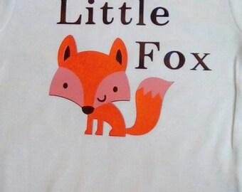 Little Fox Baby Clothes Onesie