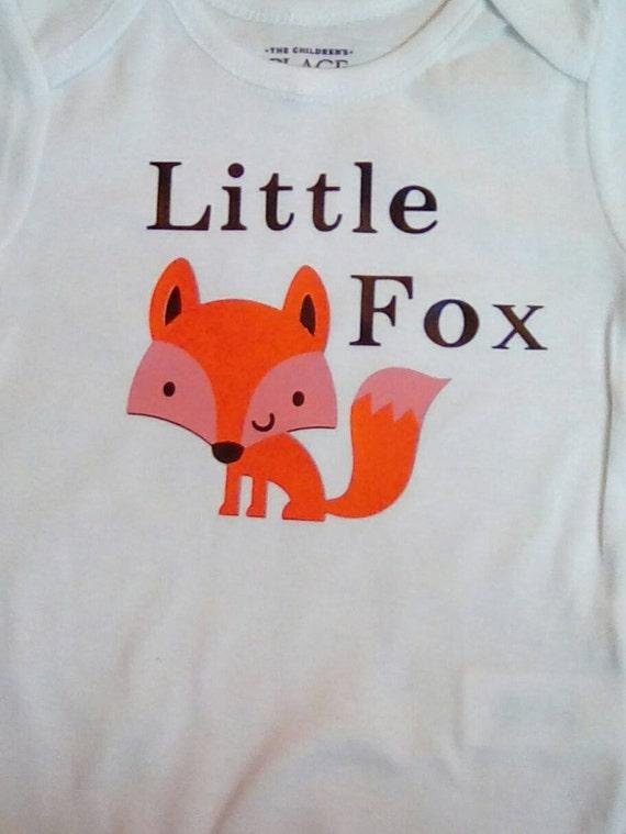 Little Fox Baby Clothes esie