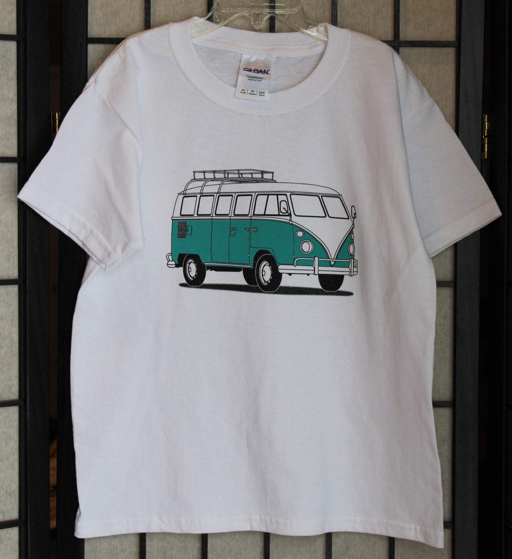 vw bus t shirt vw bus shirt for kids t shirt for children. Black Bedroom Furniture Sets. Home Design Ideas