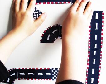 Magnet Puzzle Race Course