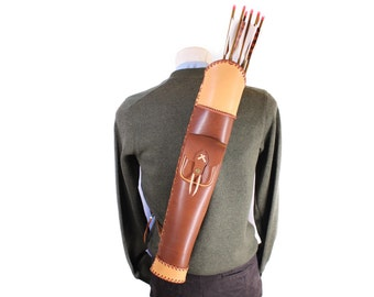 leather quiver archery