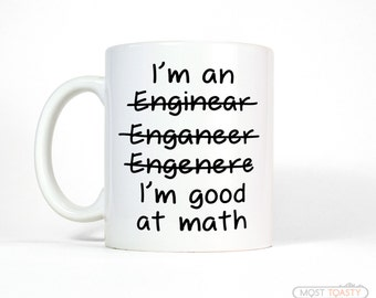 Engineer Mug - Men's Gift for Him -  Funny Gifts for Men and Women - Funny Coffee Mug - Math Gift