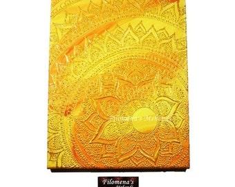 Henna on canvas, Indian decor, Henna moon, Moon on canvas, Moon lover, Mehndi canvas, Henna painting, Henna canvas art, Mehndi decor