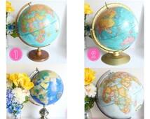 Custom Globe, Large Globe