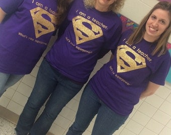 Customizable Superhero Shirts