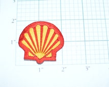 Shell Oil and Gas Company Iron-On Vintage Patch Oil Exploration Filling Station Attendant f1m- Free Shipping *Only 1 in Stock*