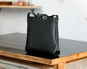 Leather Tote Bag, Small, Australian, Shoulder Bag, Crossbody, Cross Body, Satchel, Black, Laptop, MacBook, Handbag, Messenger, Folio, Ipad