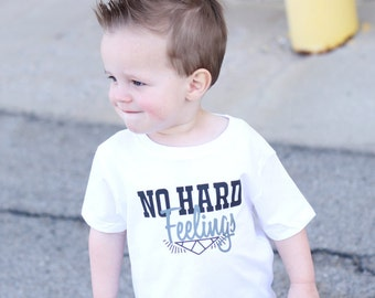 No Hard Feelings Tee- Infant - baby clothing, Toddler tee- Hipster Kid Clothes - Modern  - Kids Clothing - Toddler Clothing  - Toddler Tee