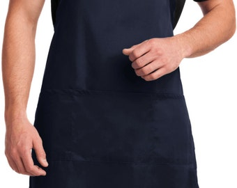 You Are Here Mens Full Length Apron with Pockets HERE-A700