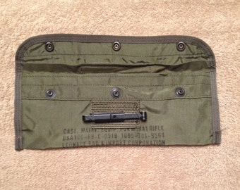 Vintage M-16A1 USGI Cleaning Kit Pouch 003
