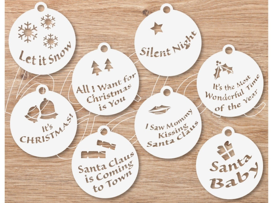 svg christmas song vector file clipart decorations xmas