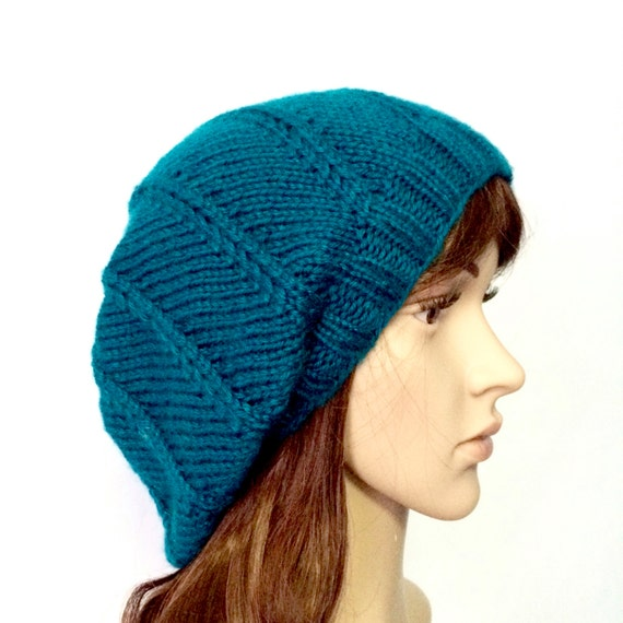 Slouchy Beanie Woman Hipster Beanie by BrittanysChikBoutik on Etsy