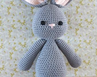 Floppy eared bunny - crochet pattern