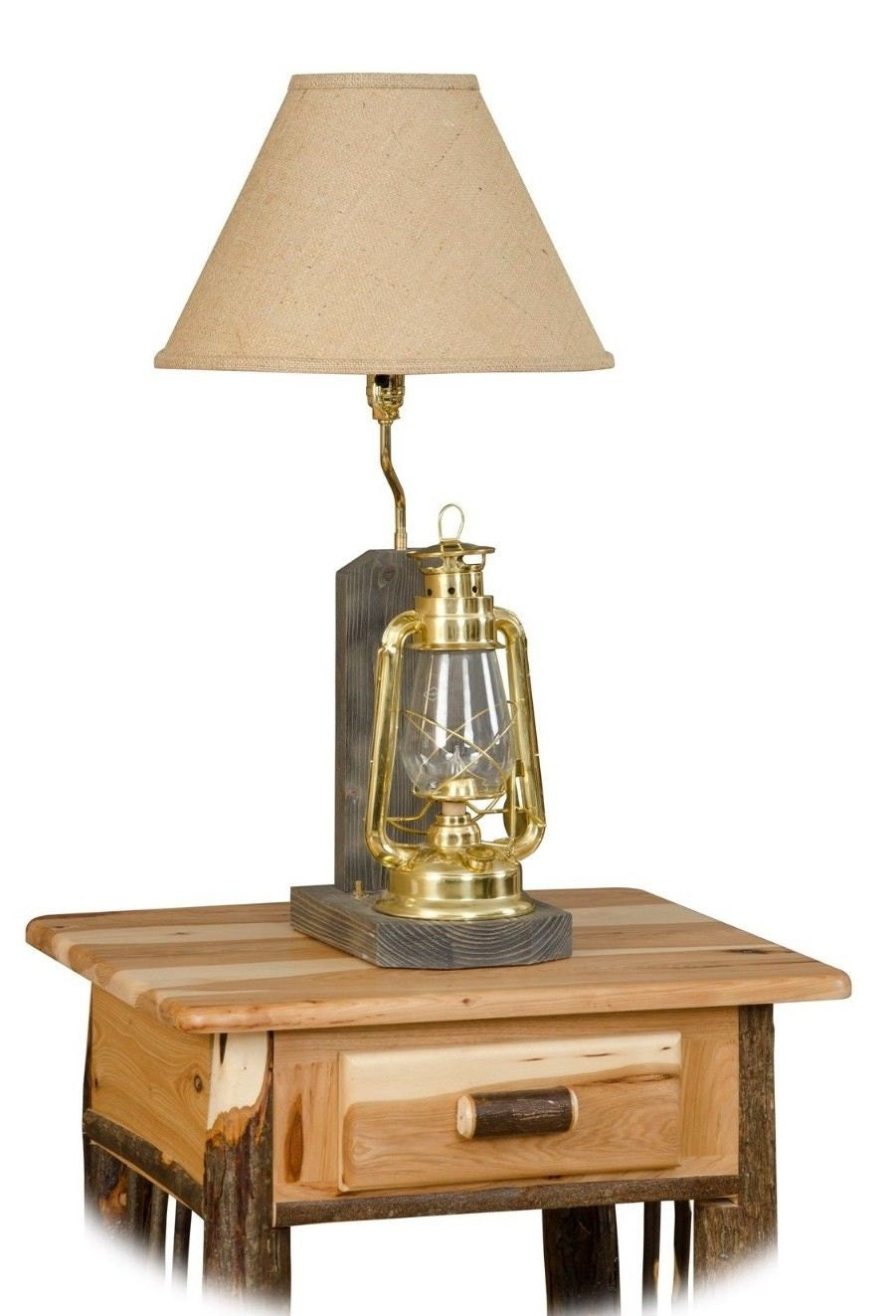 rustic table lamps living room rustic hickory lantern lamp living room family room 19159