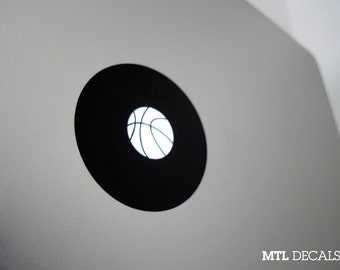 Basketball Macbook Decal / Emoji Macbook Pro Sticker