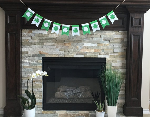 Handmade St. Patrick's Day Banner